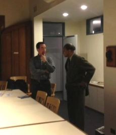 Jamie Howison with James Cone