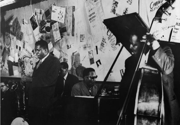 John Coltrane and Thelonious Monk